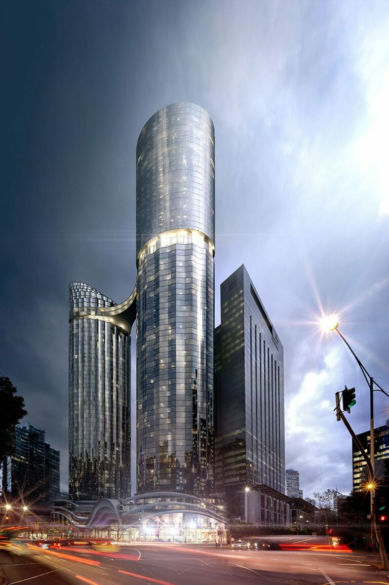 58 Southbank Boulevard, 118 City Road Melbourne - Street View Render