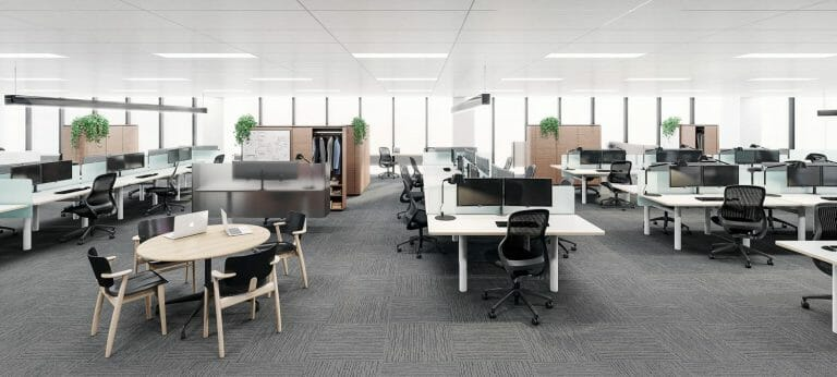BDO Australia- Workspace - Interior Render