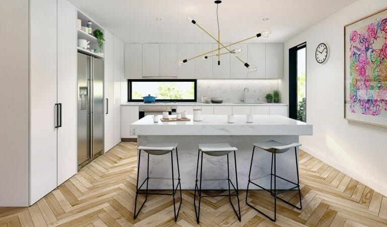 Beach Road Kitchen, Sandringham - Interior Render