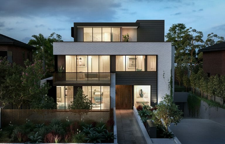 Burke Road, Kew - External Render