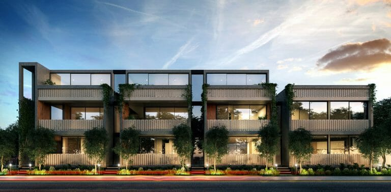Gordon Avenue, Elwood - Exterior Render