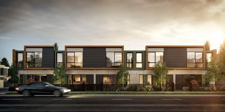 Walter Street, Hadfield - Street View - Exterior Render