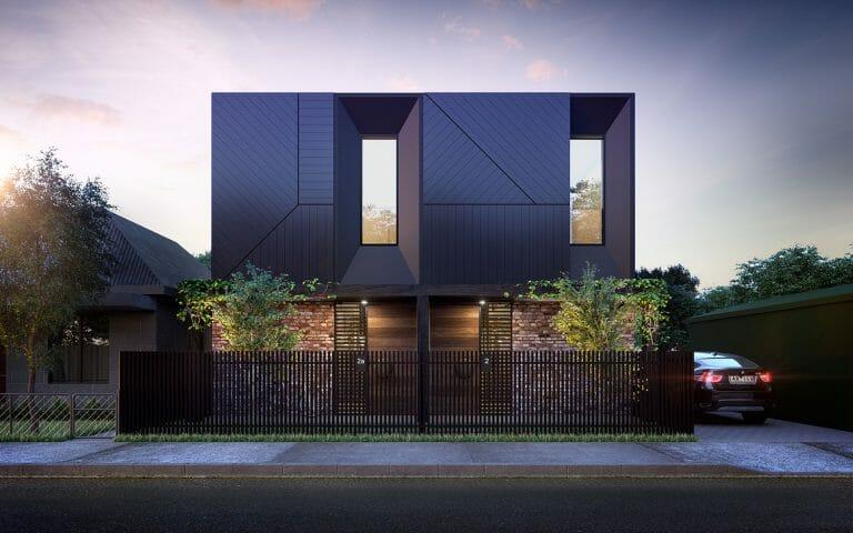 2 St Philips Street, Abbotsford - Exterior Render