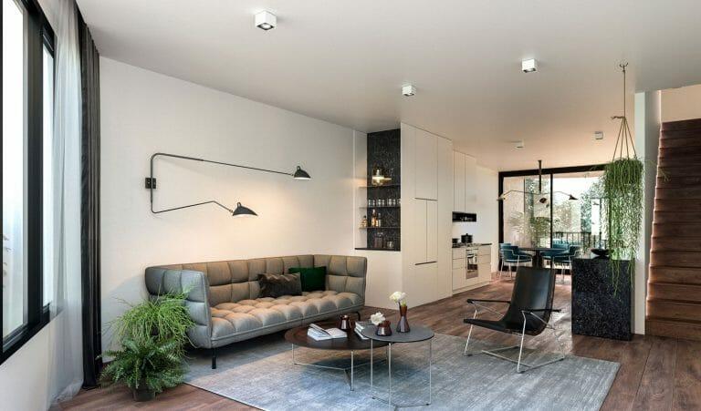 Prospect Street, Pascoe Vale - Interior Render