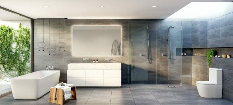 Willis Street, Hampton - Ensuite Render