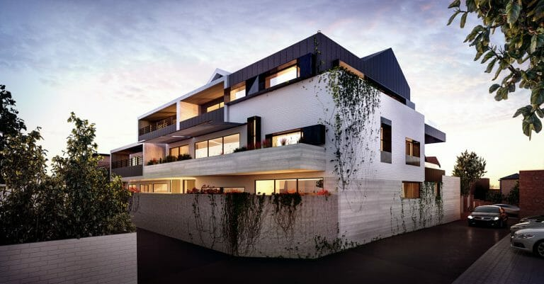 Willis Street, Hampton - External Render