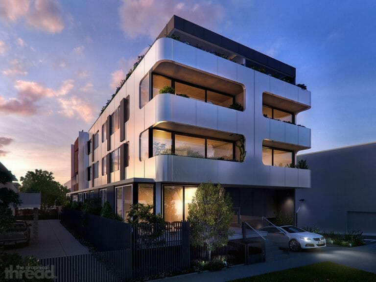 Dandenong Road - Street View Render