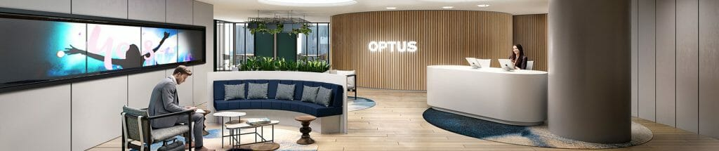 Optus Melbourne - Reception