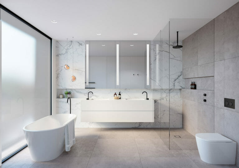 126 Male Street, Brighton - Interior Bathroom