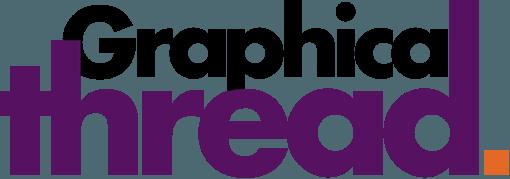 The Graphical Thread logo (black-purple)