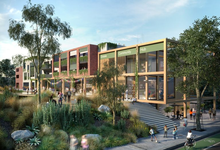 Frankston Council Concept Render - VIC
